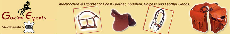 manufacturer & exporter of finest leather,saddlery,harness and leather goods